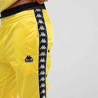Kappa Relaxed Tracksuit Bottoms With Popper Sides Co-Ord at asos.com