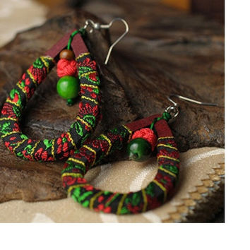 ETHNIC TRIBAL PRINTS JEWELRY EARRINGS