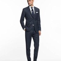 The Mayfair Suit in Blue Check