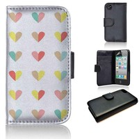 Love Pattern | wallet case | iPhone 4/4s 5 5s 5c 6 6+ case | samsung galaxy s3 s4 s5 s6 case |