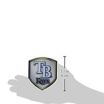 Tampa Bay Rays Team Reflector Shield Decal Sticker Car Truck Auto Mailbox