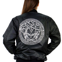VEGETA REVERSIBLE BOMBER JACKET