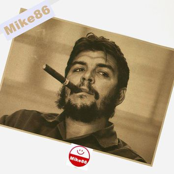 [ Mike86 ] Vintage Che guevara Poster Retro art Wall home Decoration 30X42 CM  BM-324