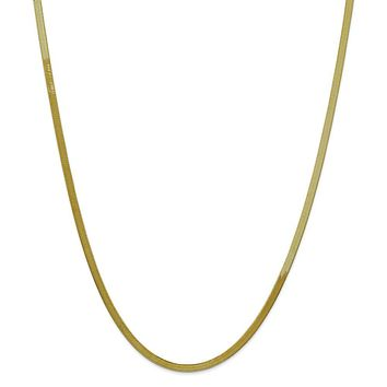10k 3.0mm Silky Herringbone Chain