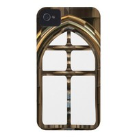 Architecture. Exotic Gothic Windows Doorway iPhone 4 Case-Mate Case from Zazzle.com