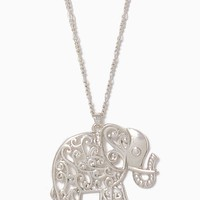 Elephant Swirl Pendant | Necklaces - Moroccan Muse | charming charlie