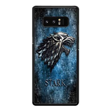 Game Of Thrones Stark Clan Nitihbis Samsung Galaxy Note 8 Case