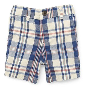 Sweet As Sugar Couture Madras Plaid Shorts