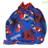 NEW Spider-Man Project Bag | Knitting Project Bag