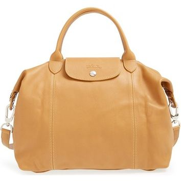Longchamp 'Le Pliage Cuir' Leather Handbag | Nordstrom