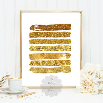 gold foil paint poster printable wall decor gold foil gold sparkles gold glitter art decor modern nursery decor abstract poster gold paint