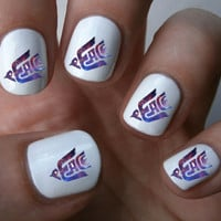 Galaxy Peace Bird Art Decals Nail Stickers