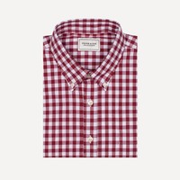 Branford Gingham Shirt in Red