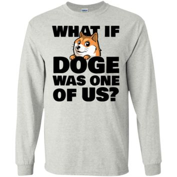 what if doge was one of us T-Shirt
