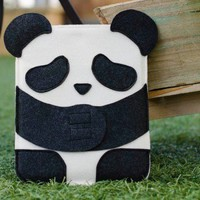 ShanaLogic.com - 100% Handmade  Independent Design! Panda iPad  iPad 2 Sleeve - New Arrivals