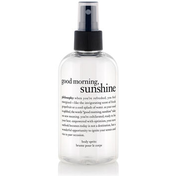 good morning sunshine | body spritz | philosophy