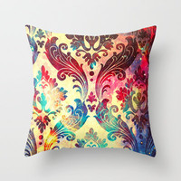 Galaxy Tapestry Throw Pillow by TheLeb