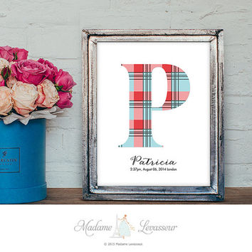 Premade Logo Monogram Baby Birthday Gift Personalized gift Wedding Monogram Wedding Logo website logo signature logo watermark initial art