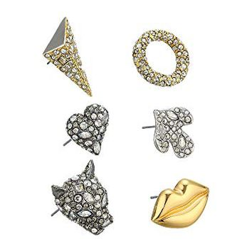 Alexis Bittar Jade Stud Earrings