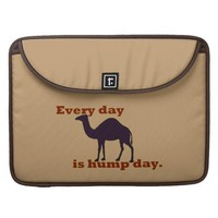"""Camel """"Every Day is Hump Day"""" Sleeves For MacBooks"""