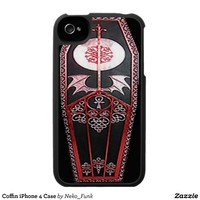 Coffin iphone 4 case
