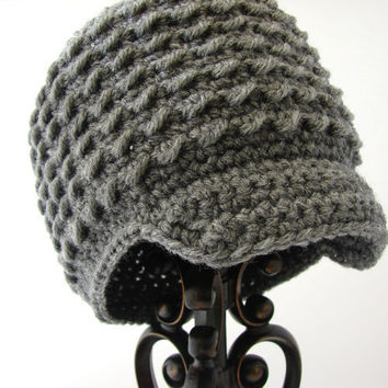 Gray Little Boys Hat