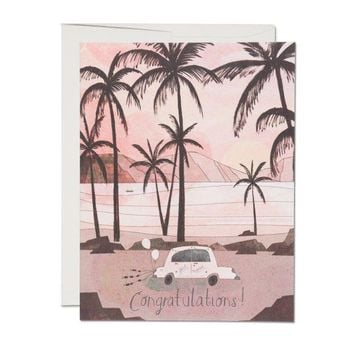 RED CAP CARDS GETAWAY CAR CARD