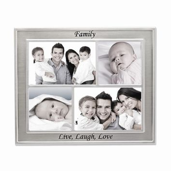 Family Live Laugh Love Collage Frame  Photo Openings - Perfect Grandparents Gift