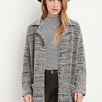 Collared Loop Knit Cardigan