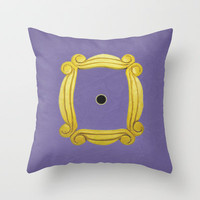 Friends Poster 02 Throw Pillow by Misery