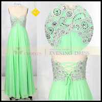 CH62432A Mint sweetheart lace up long bridesmaid dress chaozhou, View bridesmaid dress, Chaozhou Choiyes Evening Dress Product Details from Chaozhou Choiyes Evening Dress Co., Ltd. on Alibaba.com