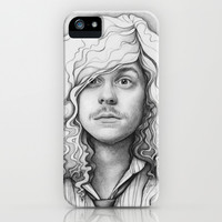 Blake Anderson Workaholics Drawing iPhone & iPod Case by Olechka