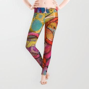 Going Round in Circles Leggings by CeeZeeCee