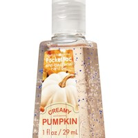 Creamy Pumpkin PocketBac Sanitizing Hand Gel   - Anti-Bacterial - Bath & Body Works