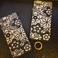 Hollow Out Sunflower iPhone 5s 6 6s Plus Case