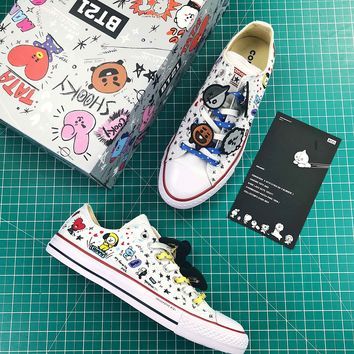 Bt21 X Converse Chuck Taylor All Star Low Sneakers - Best Online Sale