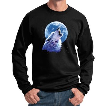 Wolf and Moon Sweatshirt Call of the Wild Pullover