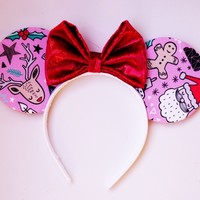 Christmas Friends Mouse Ears