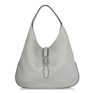 Gucci Jackie Soft Pebbled Rocky Leather Hobo Bag 362968