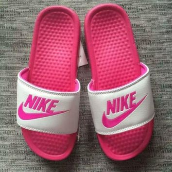 VOND4H NEW NIKE MEN AND WOMEN SANDALS SLIPPERS SNEAKERS CANVAS 1