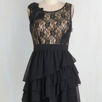 Mid-length Sleeveless A-line So This is Lovely Dress