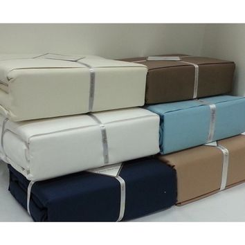Luxury Perthshire 1000 Thread Count Solid Cotton Sheet Set