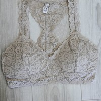 Lace & Grace Bralette - Natural