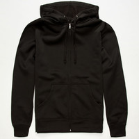 Independent Trading Company Reactive Mens Hoodie Black  In Sizes