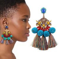 Adelabu Multilayers Colorful Earrings