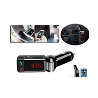 4 in 1 Car Audio Transmitter FM Bluetooth Changer