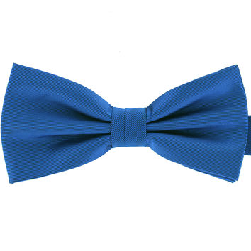 Tok Tok Designs Baby Bow Tie for 14 Months or Up (BK447, Off Blue)