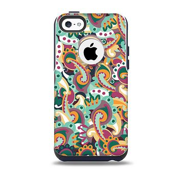 The Wild Colorful Shape Collage Skin for the iPhone 5c OtterBox Commuter Case
