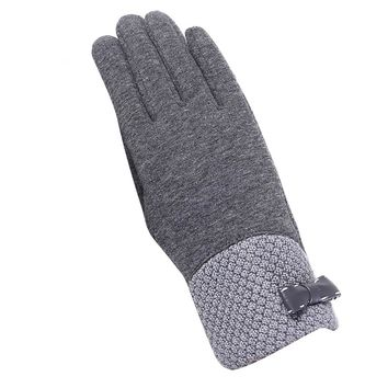 2017 Women Girl Fashion Winter Outdoor Sport Warm Gloves in Winter Soft Cotton Lady Gloves