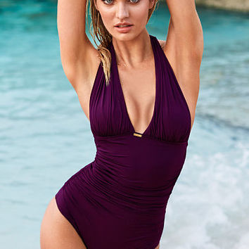 Halter Shaping One-piece - Secret by Victoria's Secret - Victoria's Secret
